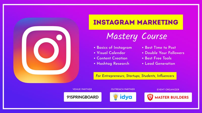 Our free Instagram training for business owners